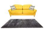 Puffy Shaggy 004 Anthracite (Szürke) 80 x 150 cm
