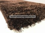 Puffy Shaggy 004 Brown (Barna) 60 x 110 cm