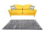 Puffy Shaggy 004 Grey (Szürke) 60 x 110 cm