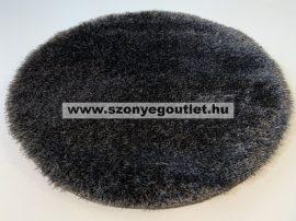 Puffy Shaggy 004O Anthracite Ø 100 cm