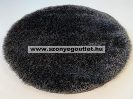 Puffy Shaggy 004O Anthracite Ø 120 cm