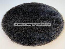 Puffy Shaggy 004O Anthracite Ø 120 cm