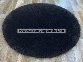 Puffy Shaggy 004O Black Ø 80 cm
