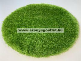 Puffy Shaggy 004O Green Ø 120 cm