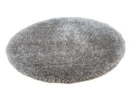 Puffy Shaggy 004O Grey Ø 120 cm