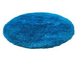 Puffy Shaggy 004O Turkiz Ø 80 cm