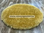 Puffy Shaggy 004O Yellow Ø 80 cm