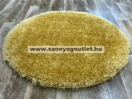 Puffy Shaggy 004O Yellow Ø 80 cm