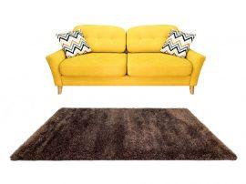 Puffy Shaggy 004 Brown (Barna) 80*150 cm