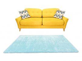 Puffy Shaggy 004 Light Blue (Kék) 60*220 cm