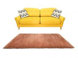 Puffy Shaggy 004 Terra 60 x 220 cm