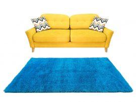 Puffy Shaggy 004 Turkiz 60*110 cm