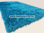 Puffy Shaggy 004 Turkiz 80*150 cm