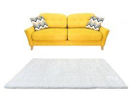 Puffy Shaggy 004 White (Fehér) 60*220 cm
