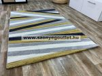 Louise 0423 Yellow Grey (Sárga-Szürke) 60*110 cm