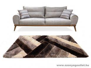 Three D Amanda barna szőnyeg 60x110 cm Készletkisöprés! Hi