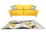 Louise 2396 Yellow Grey (Sárga-Szürke) 80*250 cm