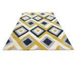 Louise 2404 Yellow Grey (Sárga-Szürke) 120*170 cm