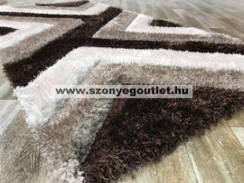 California Shaggy 321 Brown 200 x 280 cm