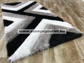 California Shaggy 321 Black (Szürke-Fekete) 60*110 cm