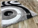 California Shaggy 324 Black 120 x 170 cm