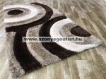 California Shaggy 324 Brown 200 x 280 cm