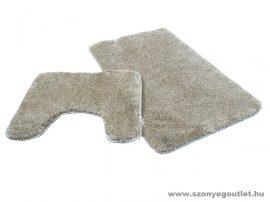 Sebano 7071-2 Beige 2 Részes Fürdőszoba Szőnyeg 50*80 cm