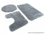 Sebano 7071-3 Grey 3 Részes Fürdőszoba Szőnyeg 50*80 cm