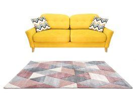 Louise 8797 Pink Grey (Rózsaszín-Szürke) 200*290 cm