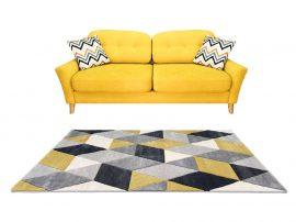 Louise 8797 Yellow Grey (Sárga-Szürke) 80*250 cm
